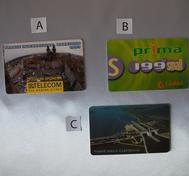 Slovakisk/Tjeckisk telefonkort