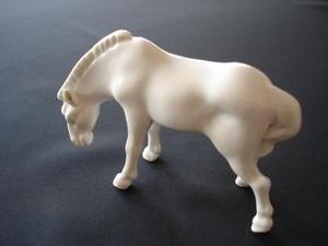 Porslin häst