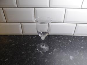 Retro vinglas