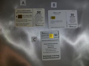 Slovakiska telefonkort