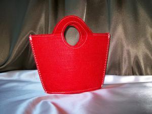 Presentväska röd