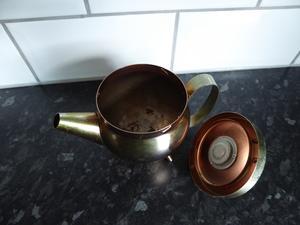 Kaffekanna askkopp
